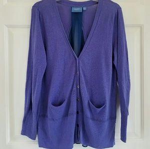 Simply Vera Vera Wang/ button down cardigan